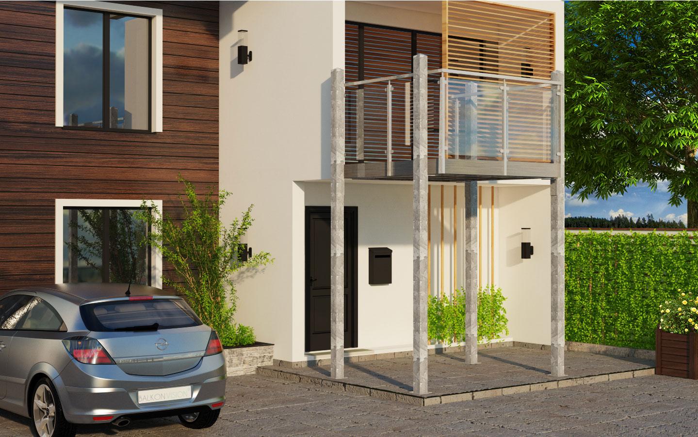 balkon seitlich trendy deuba balkonfcher klappbar mit xcm in beige sichtschutz balkon. Black Bedroom Furniture Sets. Home Design Ideas